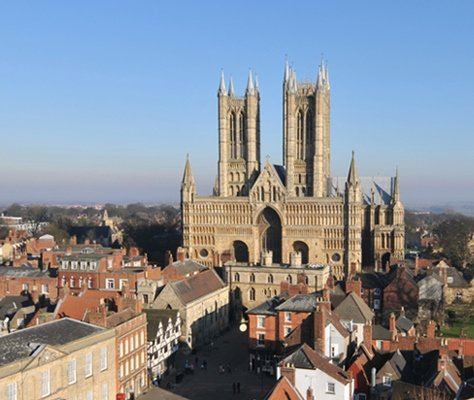 Lincoln Cathedral, just 2 miles from Redhouse Farm Bed & Breakfast