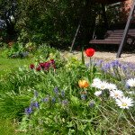 Gardens at Redhouse Farm Bed & Breakfast near Lincoln