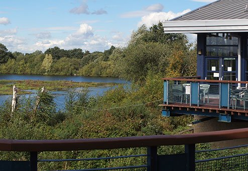 Whisby Natural World Centre walking distance from Redhouse Farm B&B