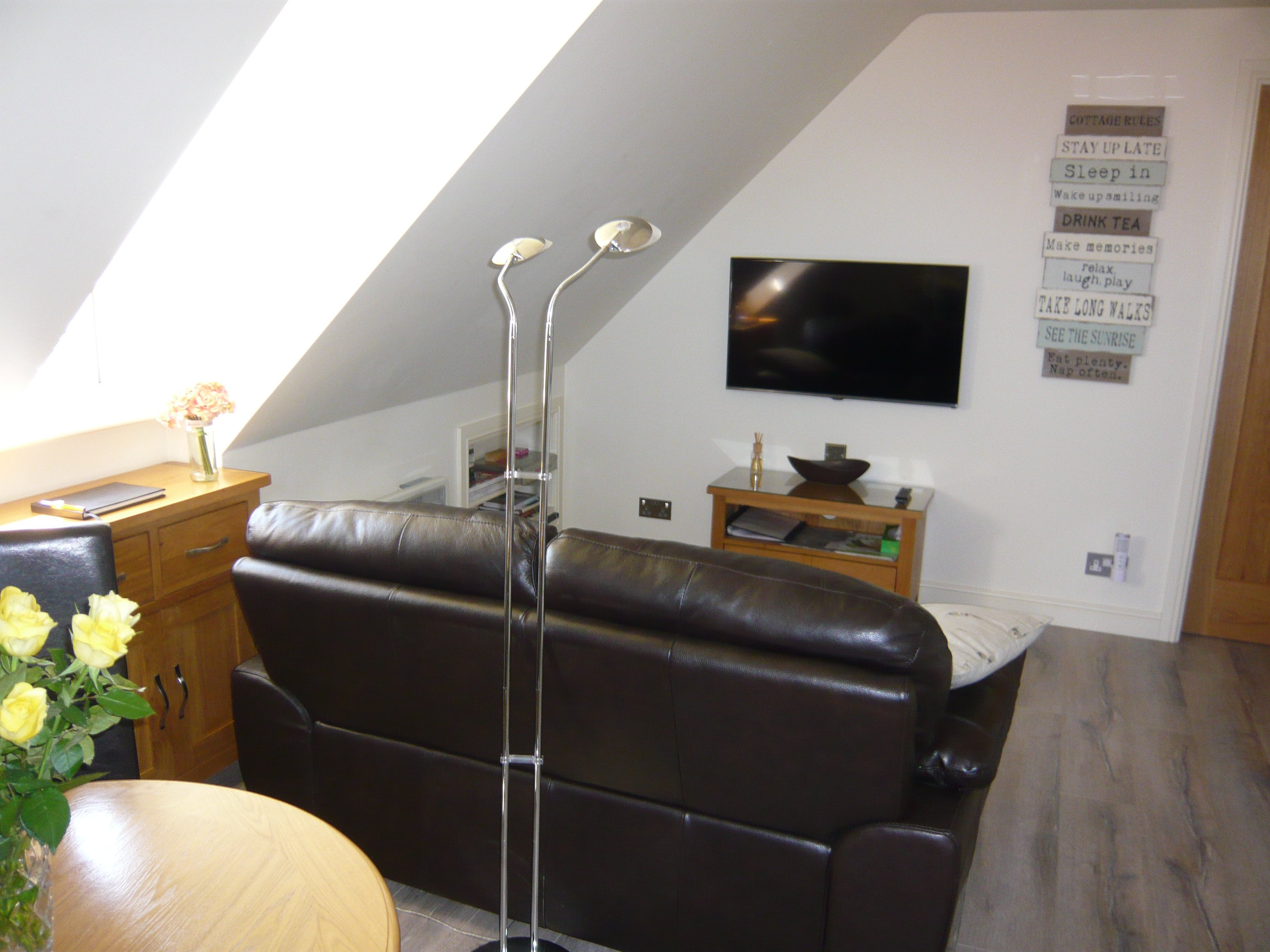 Oakloft self catering apartment at Redhouse Farm in Lincolnshire