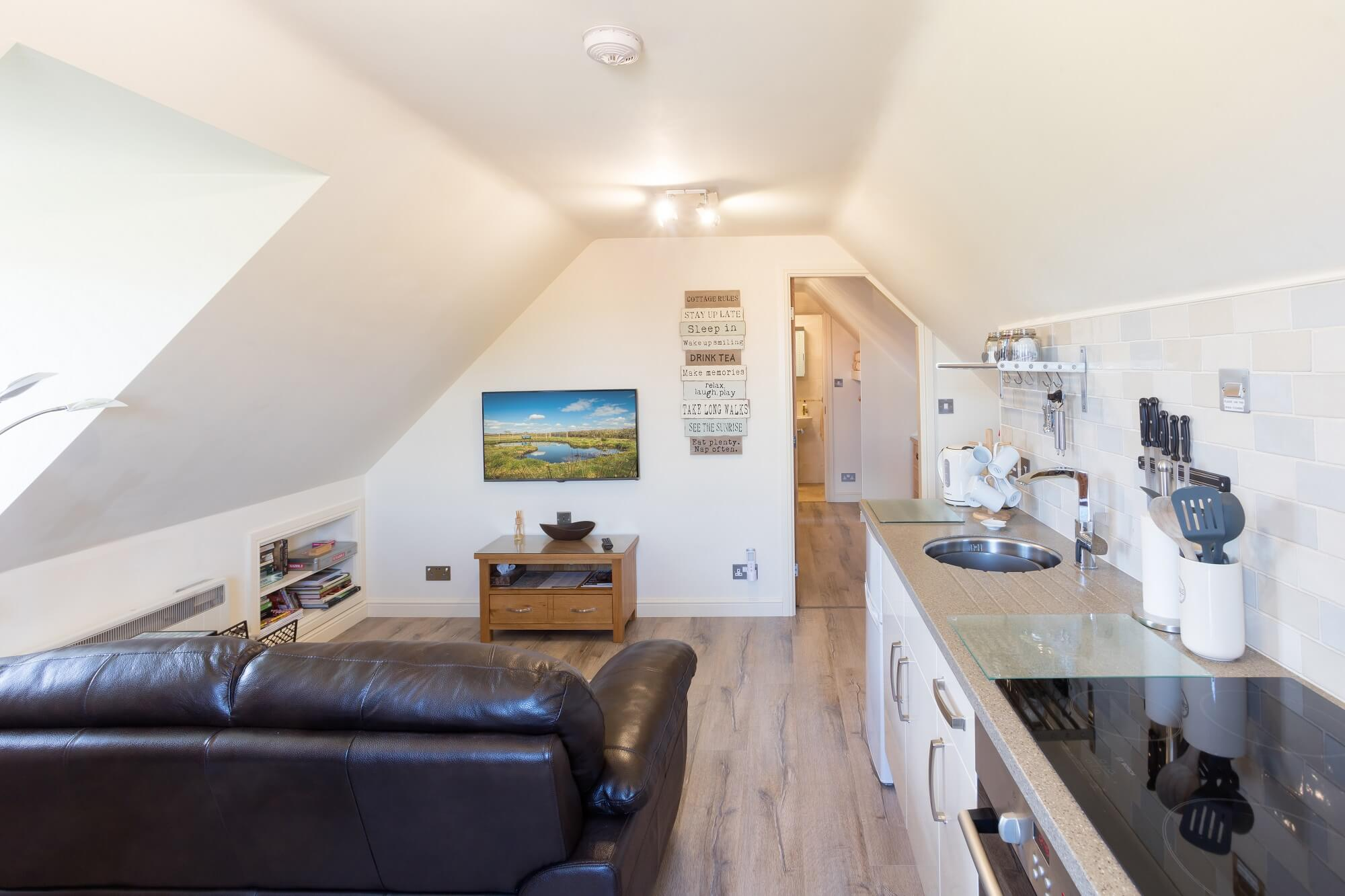 Oakloft self catering apartment in Whisby near Lincoln