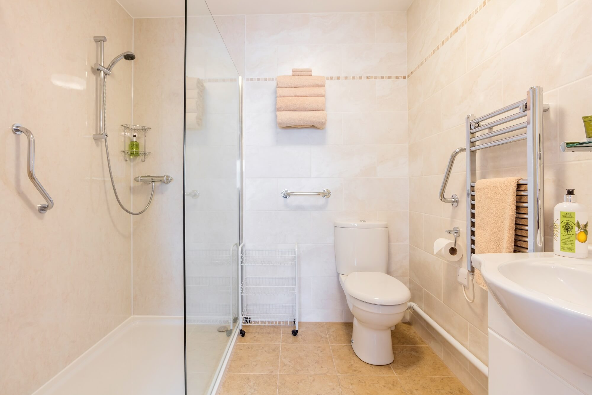 Suite 1 shower room Redhouse Farm Bed & Breakfast, Lincolnshire